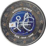 CHYPRE - 2 Euros Commémorative Couleurs - EMU 2009 - Chipre