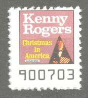 Kenny Rogers Country Pop CHRISTMAS America Album LP Vinyl Voucher Coupon LABEL CINDERELLA VIGNETTE 1990 USA Warner - Music