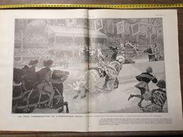 1906 ILL FETES COMMEMORATIVES DE L INDEPENDANCE BELGE THEATRE EN PLEIN AIR SEMIRAMIS CHAMPIGNY SUR MARNE - Collections