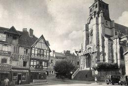 LISIEUX Eglise Saint Jacques En Travaux  1938 - Old Paper