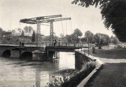 ABBEVILLE Pont De Talence   1938 - Old Paper