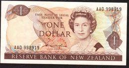 NUOVA ZELANDA (NEW ZEALAND) : 1 Dollar 1981-85 - P169a  -  XF - New Zealand