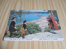 Cape Breton (Canada).The Road To The Isles Causeway. - Cape Breton