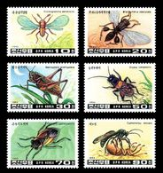 Coree Du Nord North Korea 1993 Yvert 2390/2395 ** Insectes Insects Insecten - See Description - Corea Del Nord