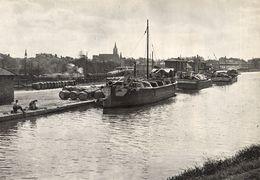 AGEN Le Port Sur Le Canal Latéral 1939 - Old Paper