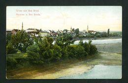 BOSANSKI BROD 1915  BOSNIA  VF USED POSTCARD - Bosnia Erzegovina