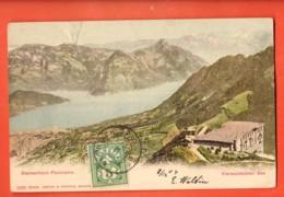 IKB-35  Stanserhorn  Panorama  Pionier. Gelaufen 1903 - NW Nidwalden
