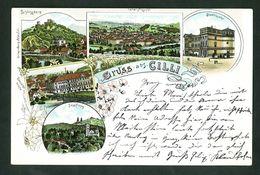GRUSS AUS CILLI  LITHO  SLOVENIA 1898  VF USED POSTCARD - Slovénie