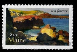 USA, 2020, 5456, Maine Statehood Bicennteniel, Single, Forever, MNH, VF - United States