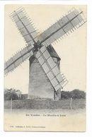 EN VENDEE: Le Moulin à VENT - 1926 Coll Robin Fontenay Le Comte - Fontenay Le Comte
