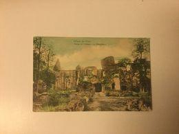 VILLERS LA VILLE 1908  RUINES DE L'ABBAYE  LA BIBLIOTHEQUE - Villers-la-Ville