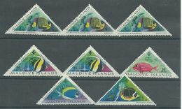 200035538  MALDIVAS  YVERT   Nº  109/116  */MH - Maldives (...-1965)