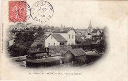 AIGNAY LE DUC  (21 Côte D'or)  GARE DU TRAMWAY - Aignay Le Duc