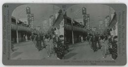 Japan ~ YOKOHAMA ~ Busy Street Scene Stereoview 33900 922ax NEAR MINT - Stereoscopic