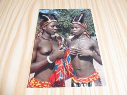 Afrique - Petites Danseuses Africaines. - Cartoline
