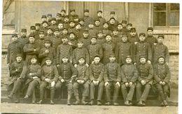 CARTE PHOTO De MILITAIRES à CHALON Sur SAÔNE En Février 1915 - (1) - - Guerre 1914-18
