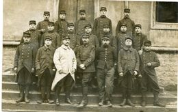 CARTE PHOTO De MILITAIRES à CHALON Sur SAÔNE En Février 1915 - (2) - - Guerre 1914-18