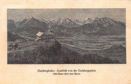 GAISBERG-SALZBURG FAHRPLAN~HOCHSTER Und SCHONSTER AUSSICHTSGIPFEL SALZBURGS~MIT ZAHNRADBAHN 46703 - Europe