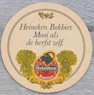 Sous-bock HEINEKEN Bier Bokbier Bierdeckel Bierviltje Coaster (N) - Beer Mats