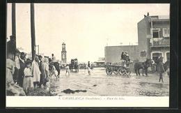 CPA Casablanca, Place Du Soko - Casablanca