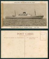 BARCOS SHIP BATEAU PAQUEBOT STEAMER [BARCOS # 02525 ] - UNION CASTLE - RHODESIA CASTLE - Paquebots