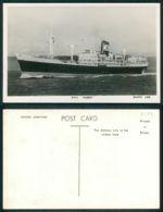 BARCOS SHIP BATEAU PAQUEBOT STEAMER [BARCOS # 02533 ] - BOOTH LINE - RMS HUBERT - Paquebots