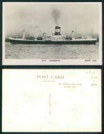 BARCOS SHIP BATEAU PAQUEBOT STEAMER [BARCOS # 02537 ] - RMS HILDEBRAND - - Paquebots