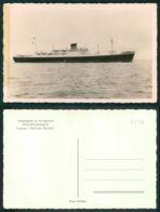BARCOS SHIP BATEAU PAQUEBOT STEAMER [BARCOS # 02542 ] - COMPAGNIE DE NAVIGATION SUD ATLANTIQUE CHARLES TELLIER - Paquebots