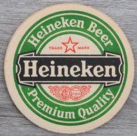 Sous-bock HEINEKEN Beer Premium Quality Bierdeckel Bierviltje Coaster (CX) - Beer Mats