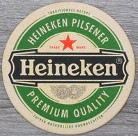 Sous-bock HEINEKEN PILSENER Premium Quality Bierdeckel Bierviltje Coaster (CX) - Beer Mats