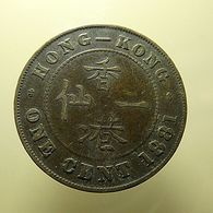 Hong Kong 1 Cent 1881 - Hong Kong
