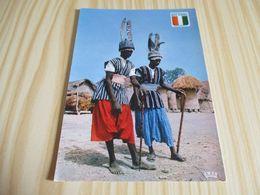 Côte D'Ivoire - Danseurs Nayoguis Sénoufos. - Costa D'Avorio