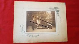 Photo Collé Sur Carton -  Auto , Voiture Ancienne , Taxi - Autres