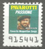 PAVAROTTI OPERA Singer PASSIONE Napoli Songs Album LP Vinyl Voucher Coupon LABEL CINDERELLA VIGNETTE USA 1990 - Musique