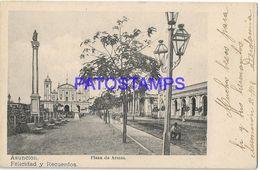 134994 PARAGUAY ASUNCION SQUARE PLAZA DE ARMAS POSTAL POSTCARD - Paraguay