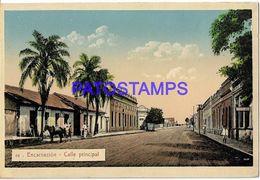 134996 PARAGUAY ASUNCION ENCARNACION STREET CALLE PRINCIPAL POSTAL POSTCARD - Paraguay
