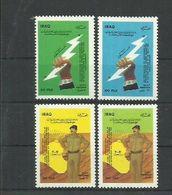 IRAQ 1988 FESTVAL And PRESIDENT SADAM HUSAIN  SET MNH - Iraq