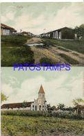 134998 PARAGUAY ASUNCION STREET CALLE & CHURCH IGLESIA MULTI VIEW POSTAL POSTCARD - Paraguay