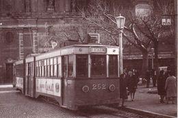 Reproducción De Postal De Tranvía De España - Tramways