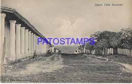135002 PARAGUAY ITAGUA STREET CALLE ASUNCION POSTAL POSTCARD - Paraguay
