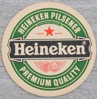 Sous-bock HEINEKEN Heineken Pilsener Premium Quality Bierdeckel Bierviltje Coaster (CX) - Beer Mats