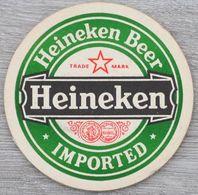Sous-bock HEINEKEN Heineken Beer Imported Bierdeckel Bierviltje Coaster (CX) - Beer Mats