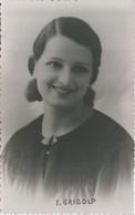 "ARTIST - WOMAN FEMME Actress ""unidentified"" Juana Grigolo - Photo PC 1936 - Fotos Dedicadas"