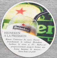 Sous-bock HEINEKEN Bière Heineken Bière De Prestige Bierviltje Coaster (N) - Beer Mats