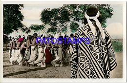 135015 PARAGUAY COSTUMES NATIVE INDIOS DANCER POSTAL POSTCARD - Paraguay