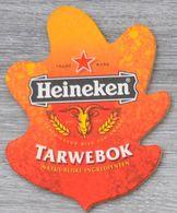 Sous-bock HEINEKEN Tarwebok Bierdeckel Bierviltje Coaster (CX) - Beer Mats