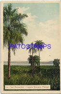 135018 PARAGUAY SAN BERNARDINO LAGUNA YPACARAI PAISAJE POSTAL POSTCARD - Paraguay