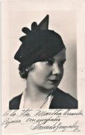 "ARTIST - Pretty WOMAN FEMME Actress ""unidentified"" - Photo PC 1934 - Fotos Dedicadas"