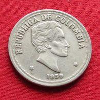 Colombia 20 Veinte Centavos 1959 KM# 215.1 Colombie - Colombie