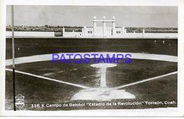135039 MEXICO ORREON COAHUILA STADIUM ESTADIO DE LA REVOLUCION CAMPO DE BEISBOL  POSTAL POSTCARD - Messico